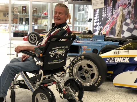 Uncle Bobby Unser using KD Smart Chair
