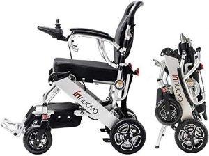 Innuovo lightweight electric wheelchair