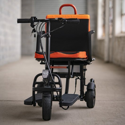 Ezfold super lightweight foldable scooter