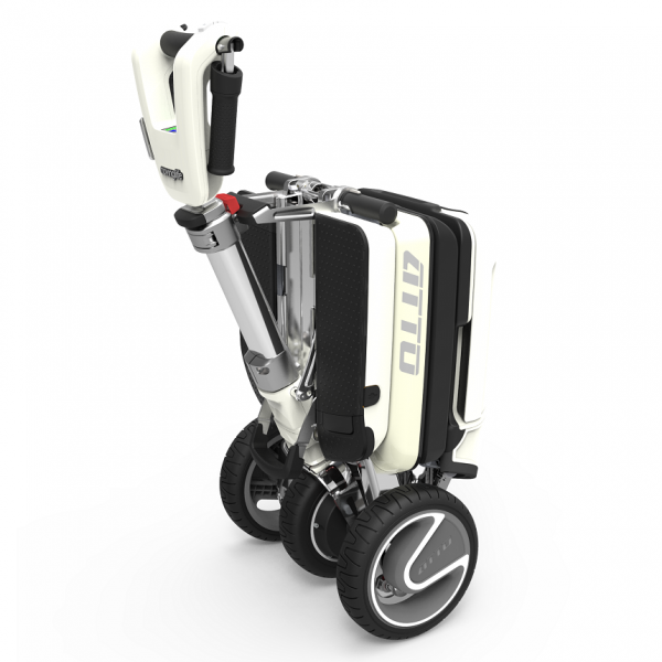 Atto Folding Mobility Scooter handle
