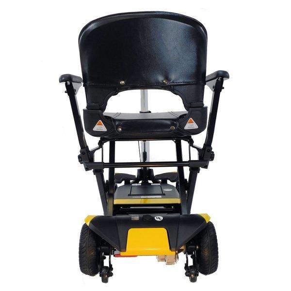 Enhance Mobility Transformer Scooter back