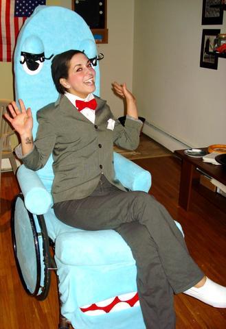 Halloween wheelchair 12 large