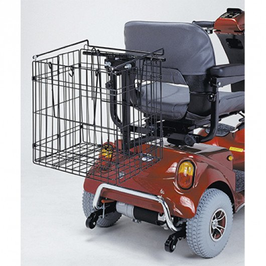 foldable rear basket 1
