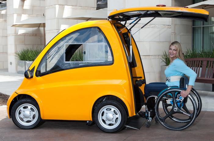 kenguru car wheelchair