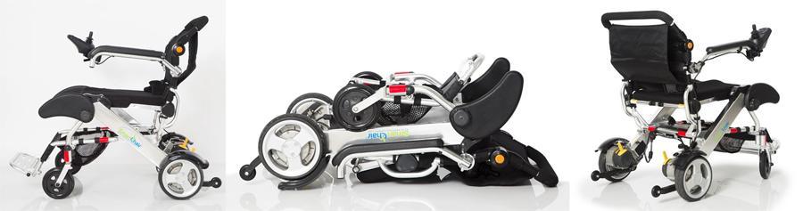 lightweight folding power wheelchair