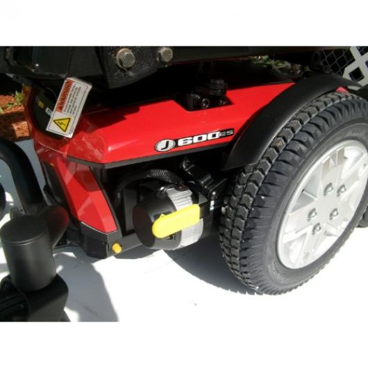 wheel jazzy 600 es
