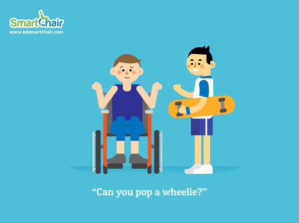 Can you pop a wheelie wheelchair grande
