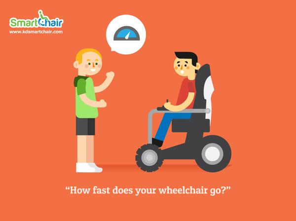 How fast does your wheelchair go grande