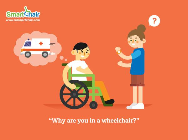 Why are you in a wheelchair grande