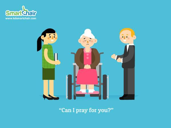 can I pray for you wheelchair grande