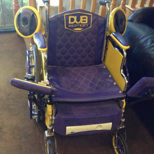 dub edition wheelchair pimped out