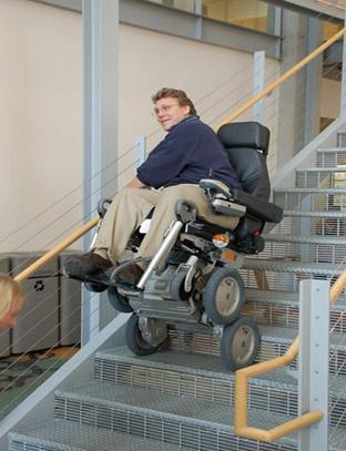 ibot Climbing Wheelchair