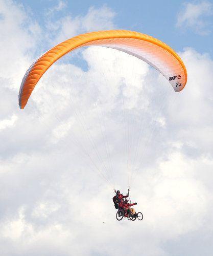 popular wheelchair sports Paragliding