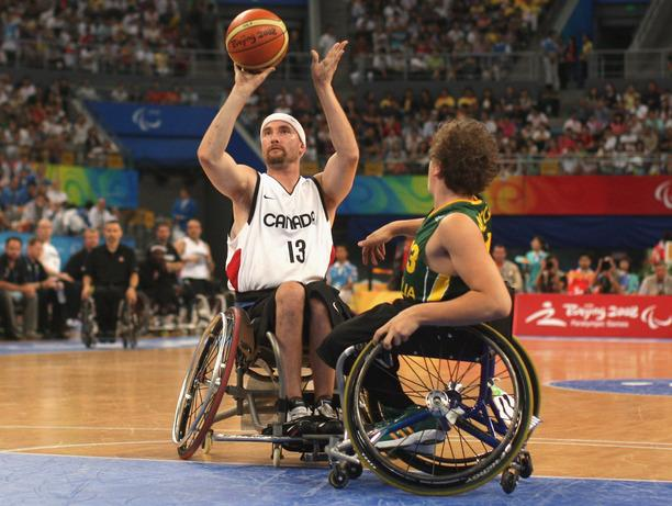 popular wheelchair sports basketball