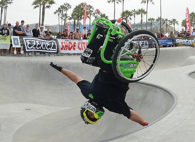 popular wheelchair sports motorcross