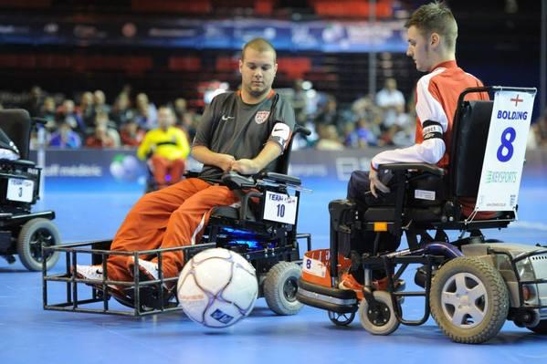 popular wheelchair sports soccer grande