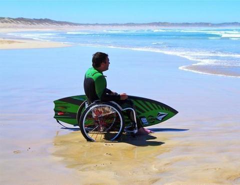 popular wheelchair sports surfing large