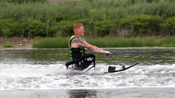 popular wheelchair sports water skiing