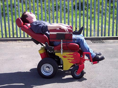 recliner wheelchair pimped out