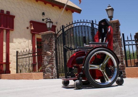speedster wheelchair pimped out