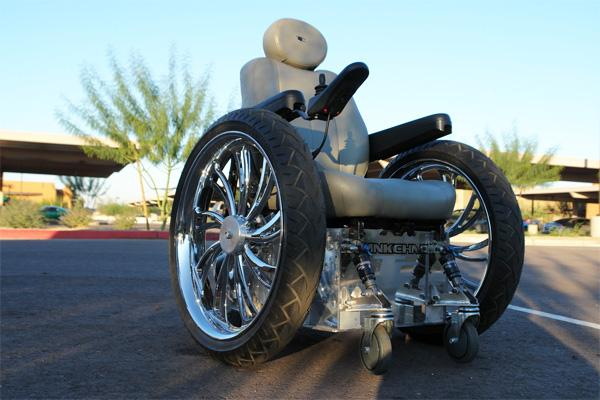 tricked out wheelchair pimped out