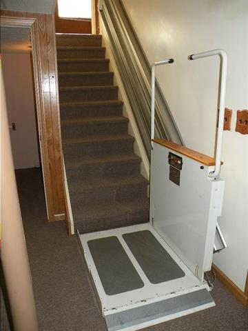 wheelchair accessible basement large