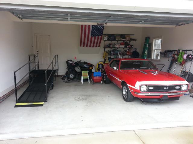 wheelchair accessible garage