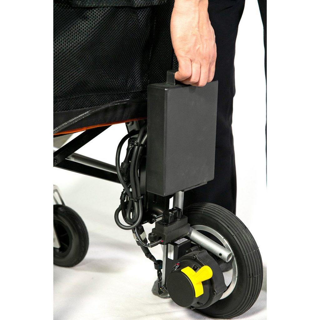 Featherweight wheelchair controls