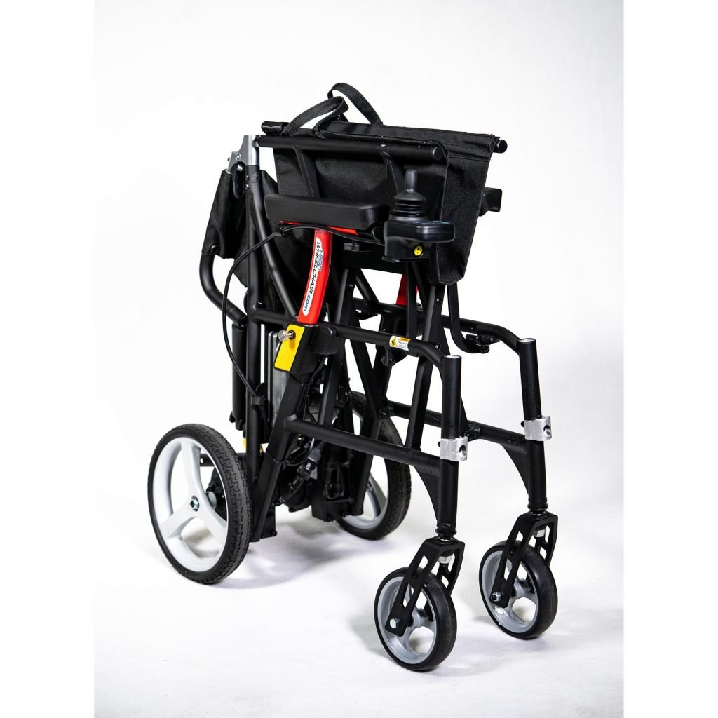 Featherweight wheelchair power features